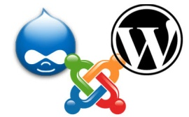 Wordpress Drupal Joomla