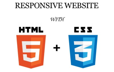 Responsive website with html5 & css